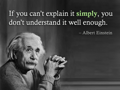 Daily quotes - If You Can't Explain It Simply, You Don't Understand It Well Enough - Albert Einstein.